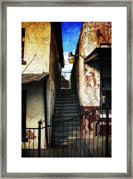 Rough Climb Framed Print