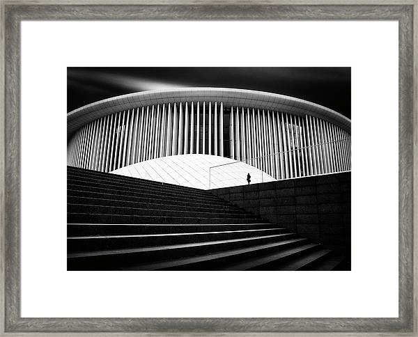 Round And Tight Framed Print