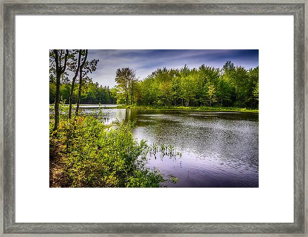 Round The Bend 35 Framed Print