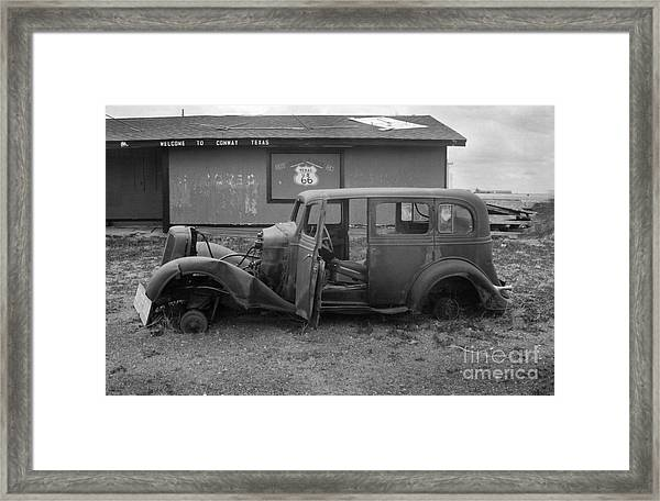 Route 66 Travels Framed Print