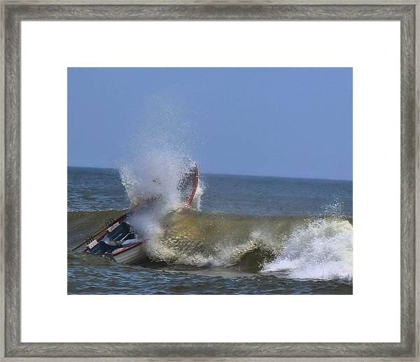 Rowing Framed Print