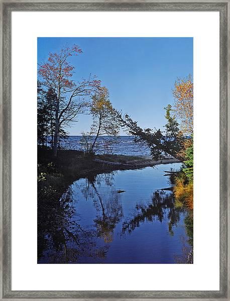 Roxbury Creek Framed Print
