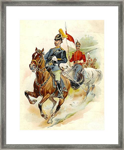 Roxbury Horse Guards 1895 Framed Print