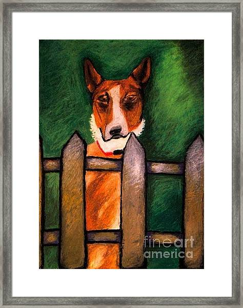 Roxie Framed Print