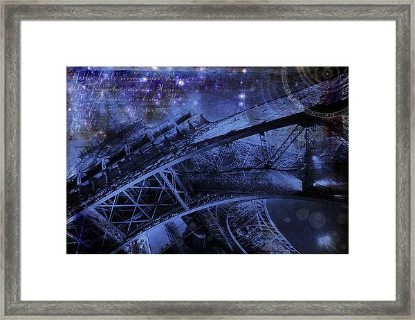 Royal Eiffel Tower Framed Print