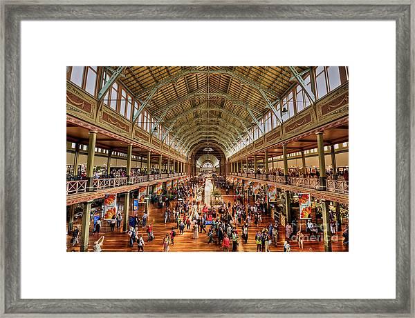 Royal Exhibition Building IIi Framed Print