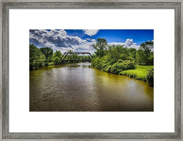 Royal River Framed Print