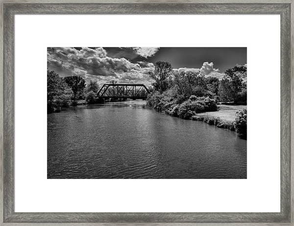 Royal River No.2 Framed Print