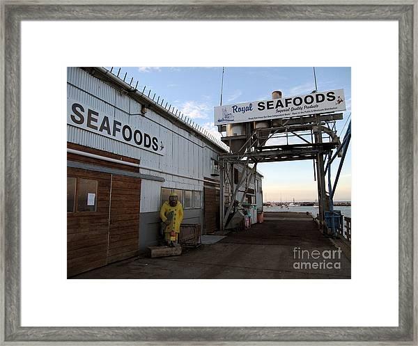 Royal Seafoods Monterey Framed Print