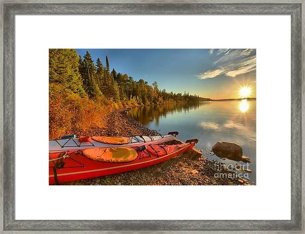 Royale Sunrise Framed Print