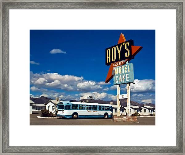 Roy's 2002 Framed Print