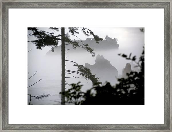 Ruby Beach Washington State Framed Print