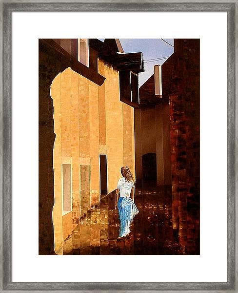 Rue De L'art Framed Print by Laurend Doumba