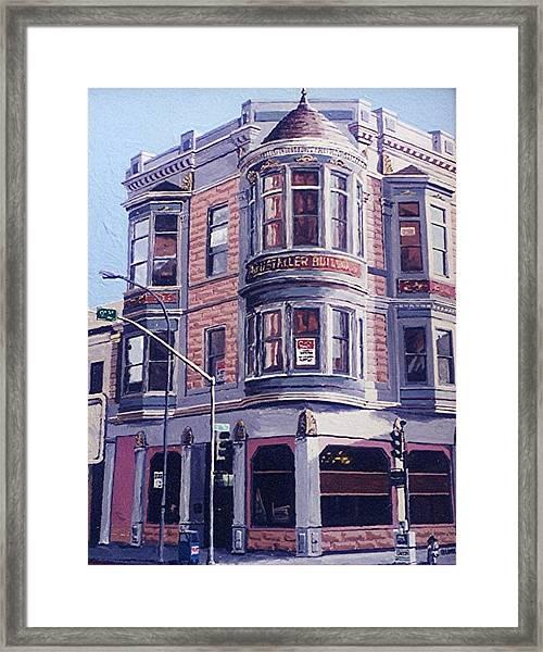 Ruhstaller Building Framed Print by Paul Guyer