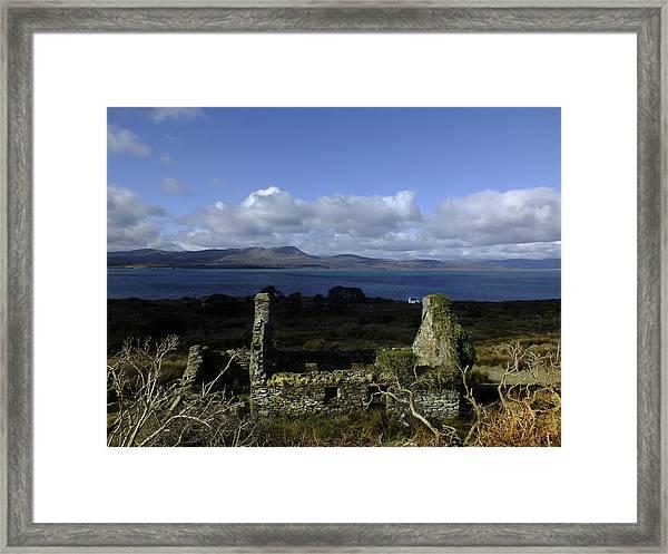 Ruin Framed Print