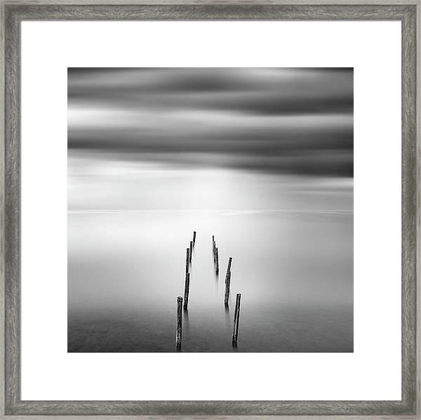 Ruined Pier 05 Framed Print