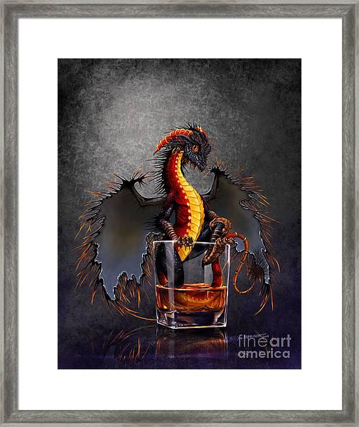 Rum Dragon Framed Print
