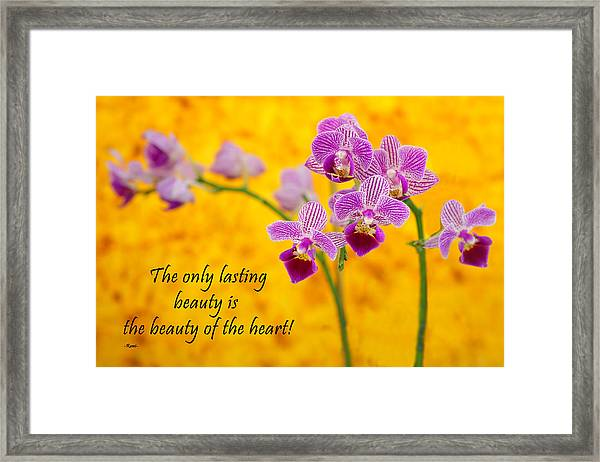 Rumi Quote-1 Framed Print