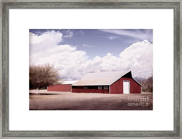 Rural Highway 99 Framed Print