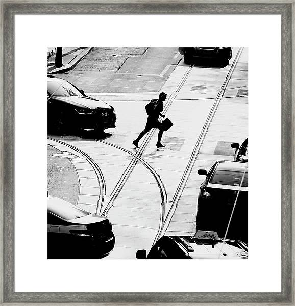 Rush Hour Framed Print by Jian Wang