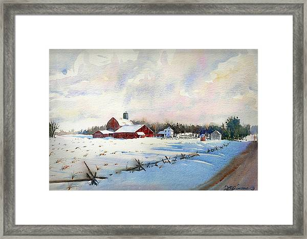 Russel's Ranch Framed Print