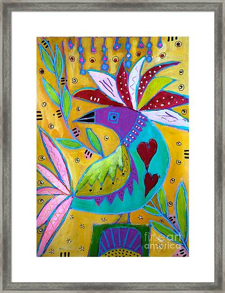 Russian Bird  Framed Print