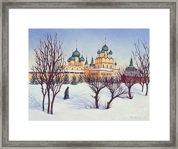 Russian Winter Framed Print