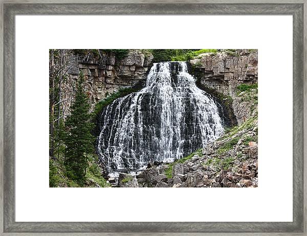 Rustic Falls Framed Print