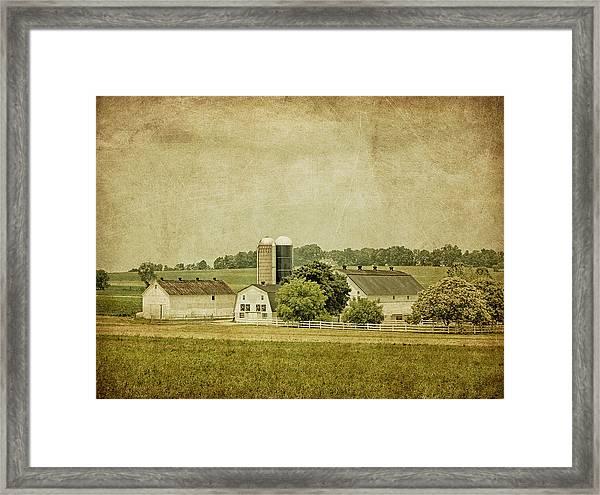 Rustic Farm - Barn Framed Print