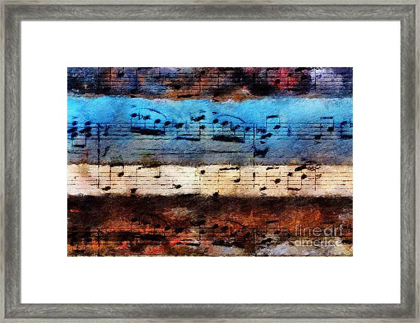 Rustic Rondo Framed Print