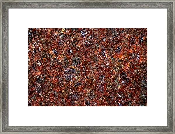 Rusty Framed Print