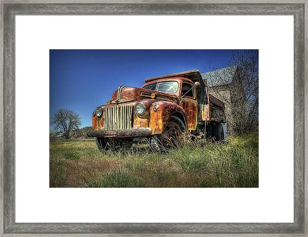 Rusty Reed Framed Print