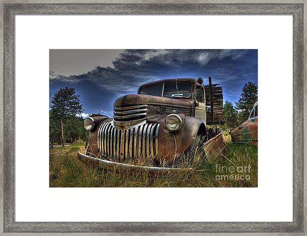 Rusty Relic Framed Print