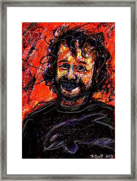 Ryan - Dark Framed Print