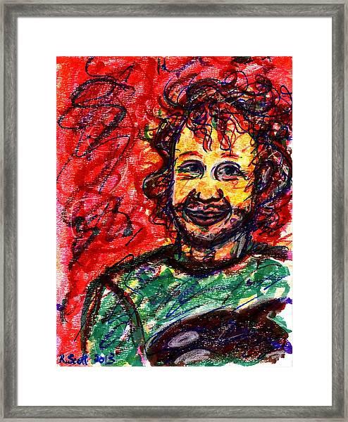 Ryan Framed Print