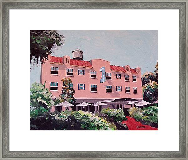 Ryde Hotel Framed Print by Paul Guyer