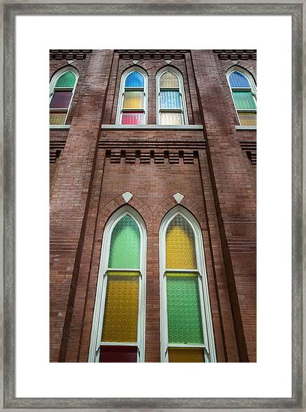 Ryman Windows Framed Print