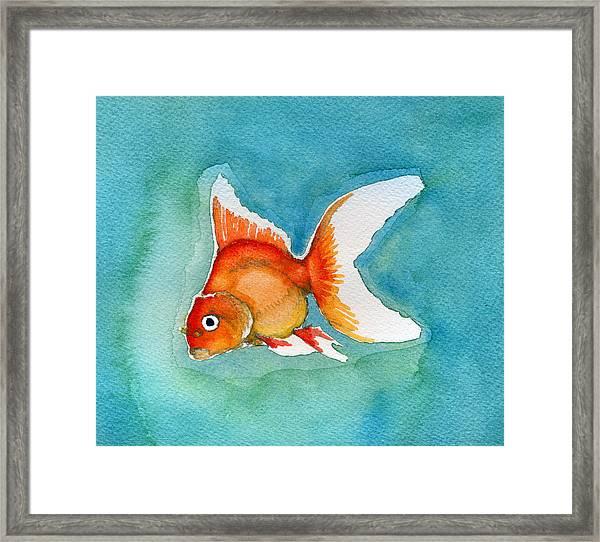 Ryukin Goldfish Framed Print