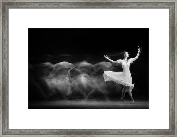 S L O W Framed Print