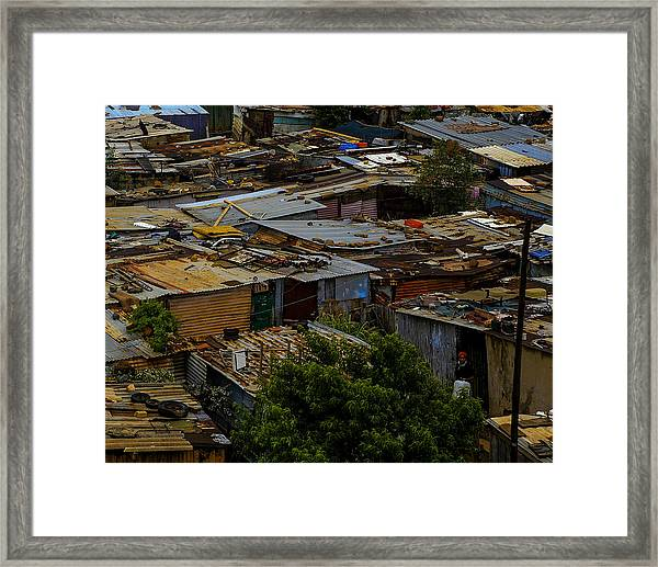 Sa Shanties Framed Print