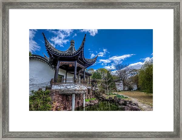 Sacred Garden Framed Print