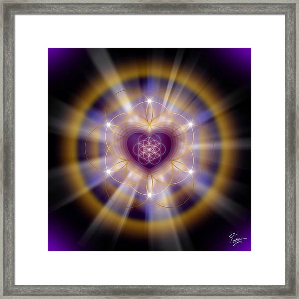 Sacred Geometry 204 Framed Print