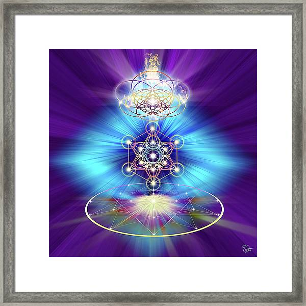 Sacred Geometry 30 Framed Print