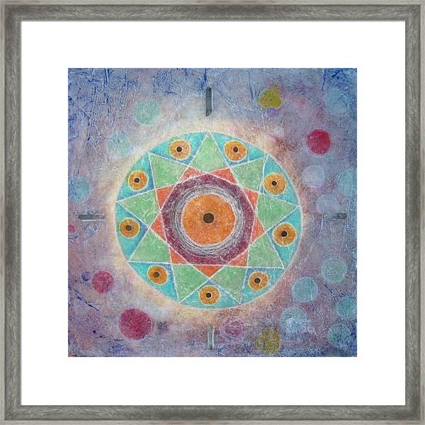 Sacred Nine Framed Print