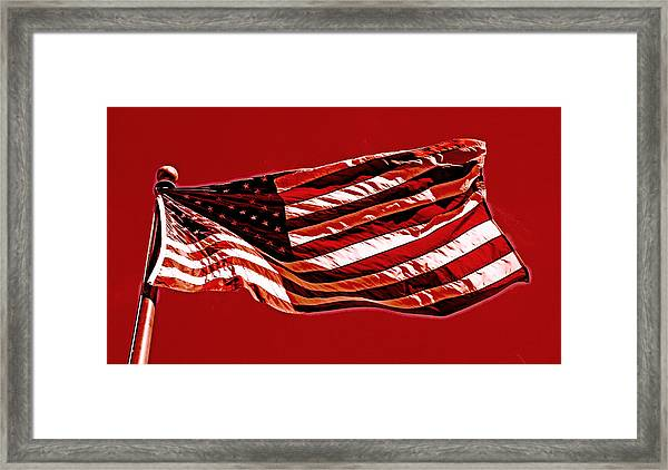 Sacrifice Of The Wounded And Fallen 2013   Framed Print