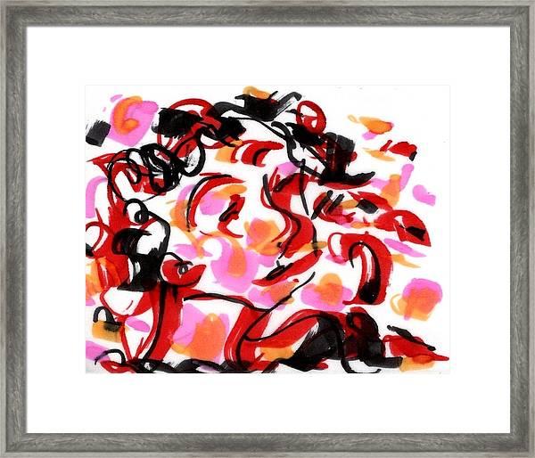 Sad Clowns IIi Framed Print