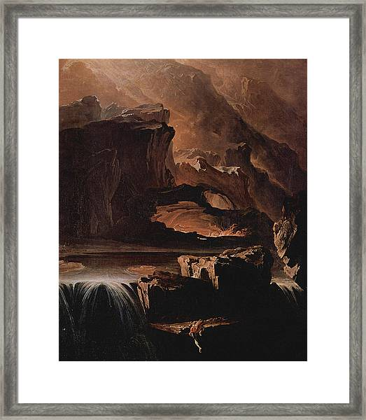 Sadak And The Waters Of Oblivion  Framed Print