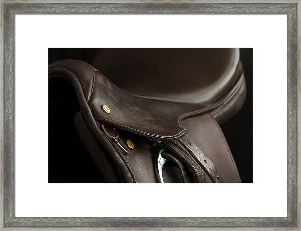 Saddle 1 Framed Print