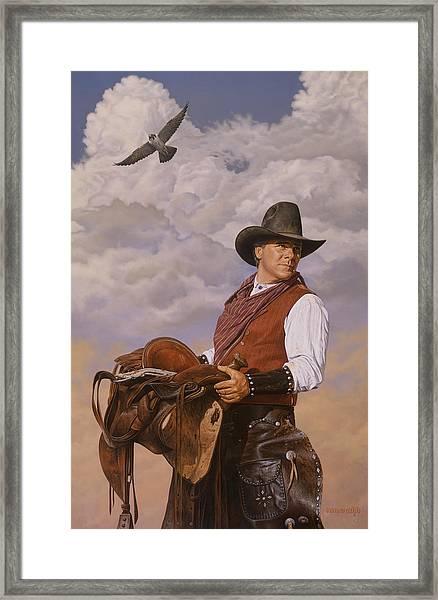 Saddle 'em Up Framed Print