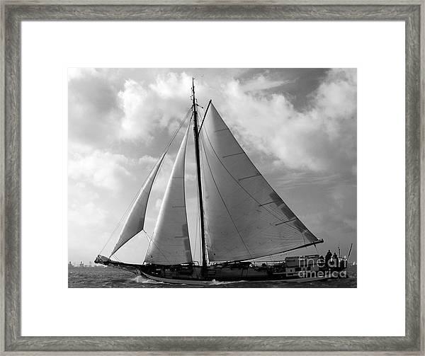 Sail By Framed Print